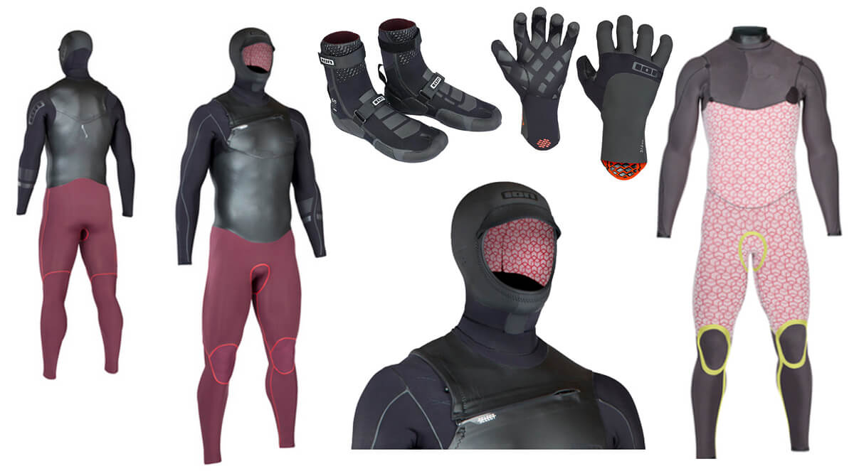 Gumuotas hidrokostiumo kūnas, ypatingai šiltas pamušalas, gumuotas ir apšiltintas gobtuvas, apšiltinti batai ir gumuotos pirštinės daro žieminį pasiplaukiojimą visai maloniu reikalu.
