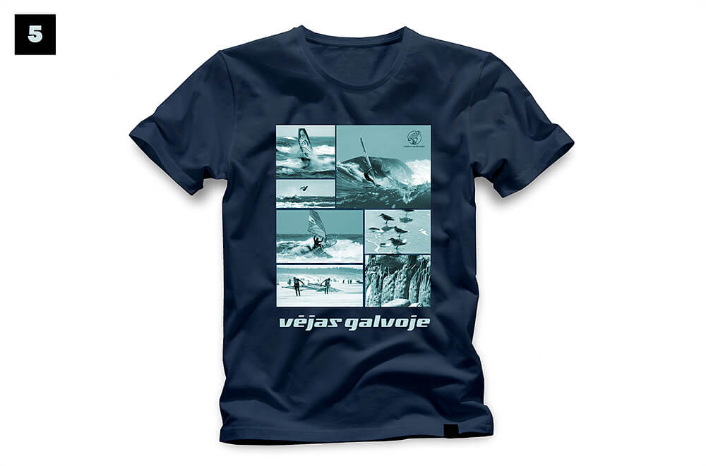 5 wave Sventoji t shirt